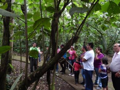 Feria Ambiental en La Selva